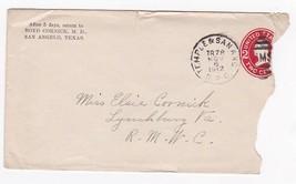 BOYD CORNICK M.D. TEMPLE & SANANO R.P.O. NOVEMBER 7 1912 - $1.78