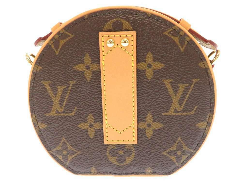 LOUIS VUITTON Mini Boite Chapeau Shoulder Bag Monogram M44699 3Way Bag Authentic image 3