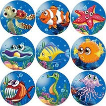 Fancy Land Tropical Sea Life Perforated Roll Stickers 200pcs Party Decor... - $7.12