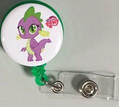 My Little Pony Spike badge reel key card ID holder lanyard retractable s... - $7.99