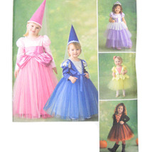 Simplicity Sewing Pattern 2569 Toddlers Costume Princess Fairy 1/2 1 2 3 FF - $6.95