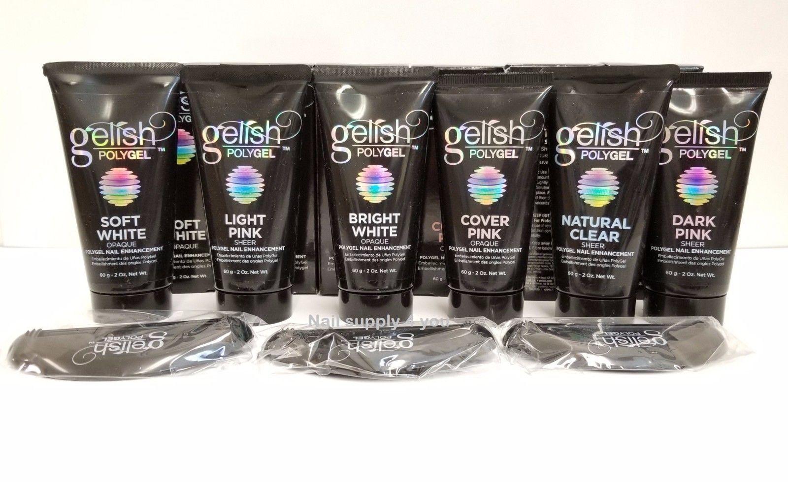 Harmony Gelish PolyGel - 2oz/60g Tube - Choose your colors
