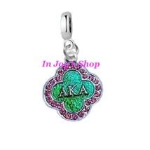 AKA Sorority Charm for Pandora - $7.99