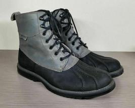 Wolverine Felix Waterproof Duck Boot, Grey Rubber & Leather, Mens Size 1... - £38.33 GBP