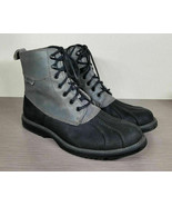 Wolverine Felix Waterproof Duck Boot, Grey Rubber & Leather, Mens Size 1... - $50.39