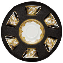 Versace by Rosenthal I Love Baroque Set 6 Tea cups with Saucer - $1,199.35