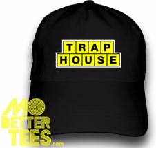 Trap House Dad Hat Logo Style Baseball Cap Custom printed - $14.99