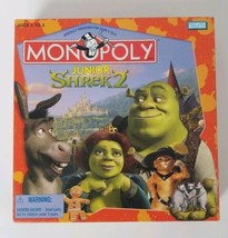 Shrek 2 Monopoly JR Board Game Parker Brothers 2004 - $15.88
