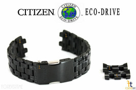 Citizen Eco-Drive S088003 Black Ion-Plated SS Watch Band S087881 59-S05411 - $229.95