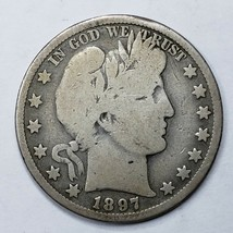 1897O Silver Barber Half Dollar Coin Lot A 189