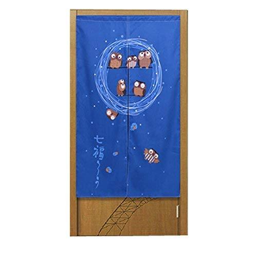 Panda Superstore Doorway Curtain Simple And Refined Style Japanese Style Curtain
