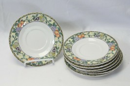 """Mikasa Chelsea Court Saucers 6.5"""" Lot of 7 - $29.39"""