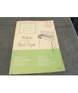 All Time Singing Favorites Mutivox Electric Chord Organ Sheet Music - $6.99