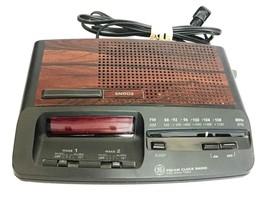 Vintage GE FM/AM Clock Radio  - $129.99