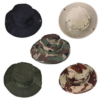 GREEN BOONIE HAT FOR HUNTING, FISHING, HIKING & OUTDOOR USE - MILITARY STYLE