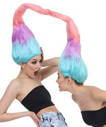 Wig for Cosplay Adult Women Twin Trolls Style HW-1438 - $34.95+