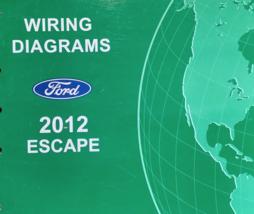 2012 FORD ESCAPE Electrical Wiring Diagram Diagram EWD Shop Repair Manual OEM - $7.91