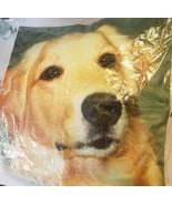 Cushion Cover Golden Retriever Pillow Dog Printed Sofa Home Decoration 1... - $7.20