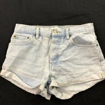 Forever 21 High Waist Blue Jean Shorts  - $14.84