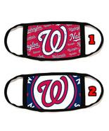 Washington Nationals Face Mask with black string reusable washable #4 - $14.54+