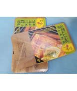"2 - 7""x12"" Cedar Grilling Planks True Fire Gourmet Barbecue BBQ Smoky - $24.95"