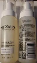 Nexxus Clean & Pure Conditioning Hair Foam Moisturizing Conditioner Loot... - $17.30