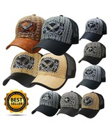 Baseball ANIMAL TRUCKER CAP HAT Premium Emblem Casual Leather Brim Mesh - $11.99