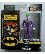 "Spin Master DC comics The Joker 4"" Figure variation villan Batman nemesis. - $18.69"