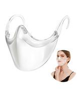 Clear Plastic Smile Face Mask Shhield Durable Plastic Reusable Cover Transparent - $13.99 - $99.99