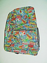 "Back to School New Marvel Comics Backpack 18"" Avengers Comic Book Nylon Funko - $20.79"