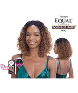 SNG Freetress Equal Invisible Part Synthetic Curly Hair Wig – Christa Short - $32.95