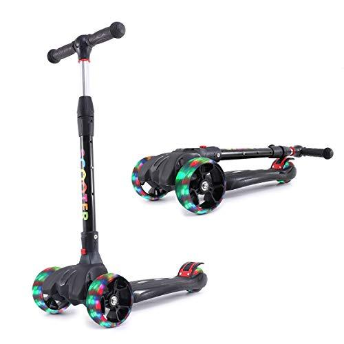 Primary image for Kick Scooter for Kids with Led Flashing Wheels for Boys or Girls Adjustable Heig
