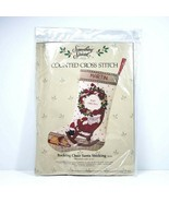 Vintage Something Special Counted Cross Stitch Kit Christmas Stocking #5... - $24.99