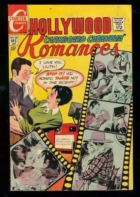 HOLLYWOOD ROMANCES #50 1969-CHARLTON ROMANCE-FILM COVER VG
