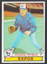 Montreal Expos Woodie Fryman 1979 Topps Baseball Card 269 nr mt - $0.50