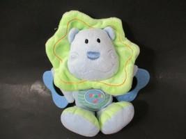 Koala Baby plush blue green lion teether music lights hanging loop twinkle baby - $10.88