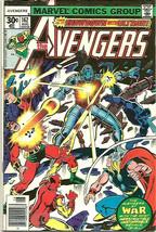 AVENGERS #162 ULTRON Fine-  Marvel Comics 1977 Shooter, Perez art 1st Jo... - $24.75