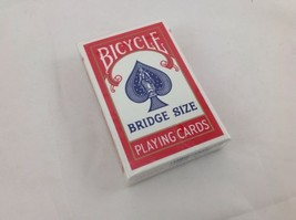 Play Cards Bicycle Bridge Brand New Red Deck Free Shipping - $7.69