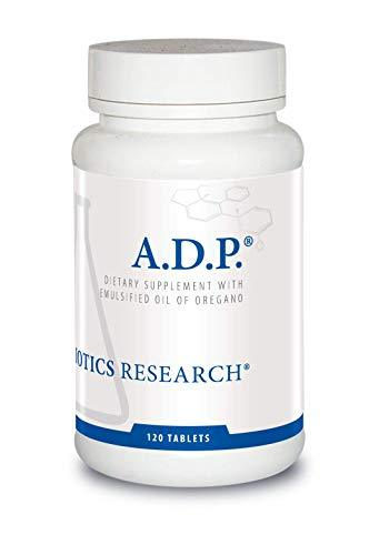 Biotics Research A.D.P. © - Highly Concentrated Oil of Oregano, Optimal Absorpti