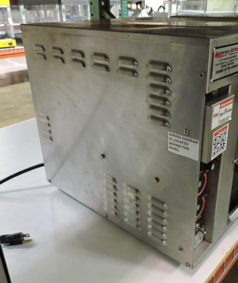 apw wyott bt-15 bagel master commercial conveyor toaster