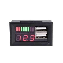 Red LED Digital Display Voltmeter Mini Voltage Meter Battery Tester Pane... - $22.97