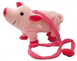 LARGE PINK REMOTE CONTROL WALKING PIG WITH SOUND battery operated toy piggy - $18.00