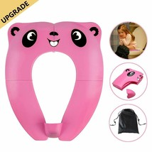 Folding Potty Training Seat TYRY.HU Toddler Portable Travel Toilet Seat ... - $13.38