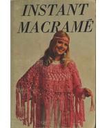 Instant Macrame - Vintage macrame book - Digital download in PDF Format - $5.00