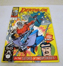 Marvel Comics Deathlok #2 Aug 1991 In the Clutches of the Capturebots Co... - $3.95