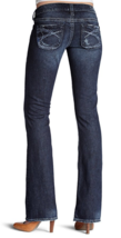 SILVER JEANS Cheap SALE Low Rise Dark Tuesday Bootcut Stretch Jean 27, 30 - $49.97