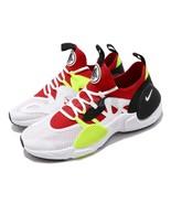 New Nike Men's Huarache E.D.G.E TXT (AO1697-100) White/University Red-Vo... - $49.47