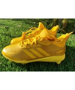 ADIDAS ADIZERO AFTERBURNER V DIPPED METAL BASEBALL CLEATS AQ0090 Yellow ... - $33.66