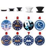 Pop up Phone Holder Expanding Stand Finger Grip Mount Kansas City Royals - $11.99