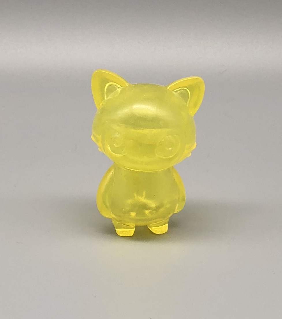 Max Toy Yellow Clear Mini Cat Girl